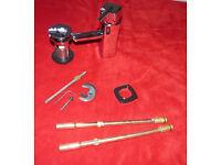 mono basin mixer tap chrome