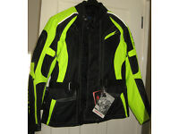 Richa Rix-2 fluorescent hiviz motorcycle jacket Large size 42