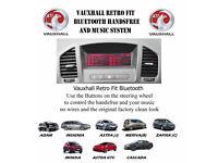 Vauxhall Retrofit OEM Upgrade Bluetooth for CD300 & CD400Headunits call