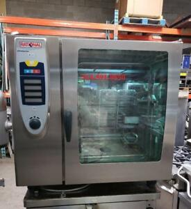 RATIONAL FOUR A CONVECTION / VAPEUR ** SELF COOKING CENTER ***