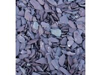 Bulk Bag Of Welsh Plum Slate