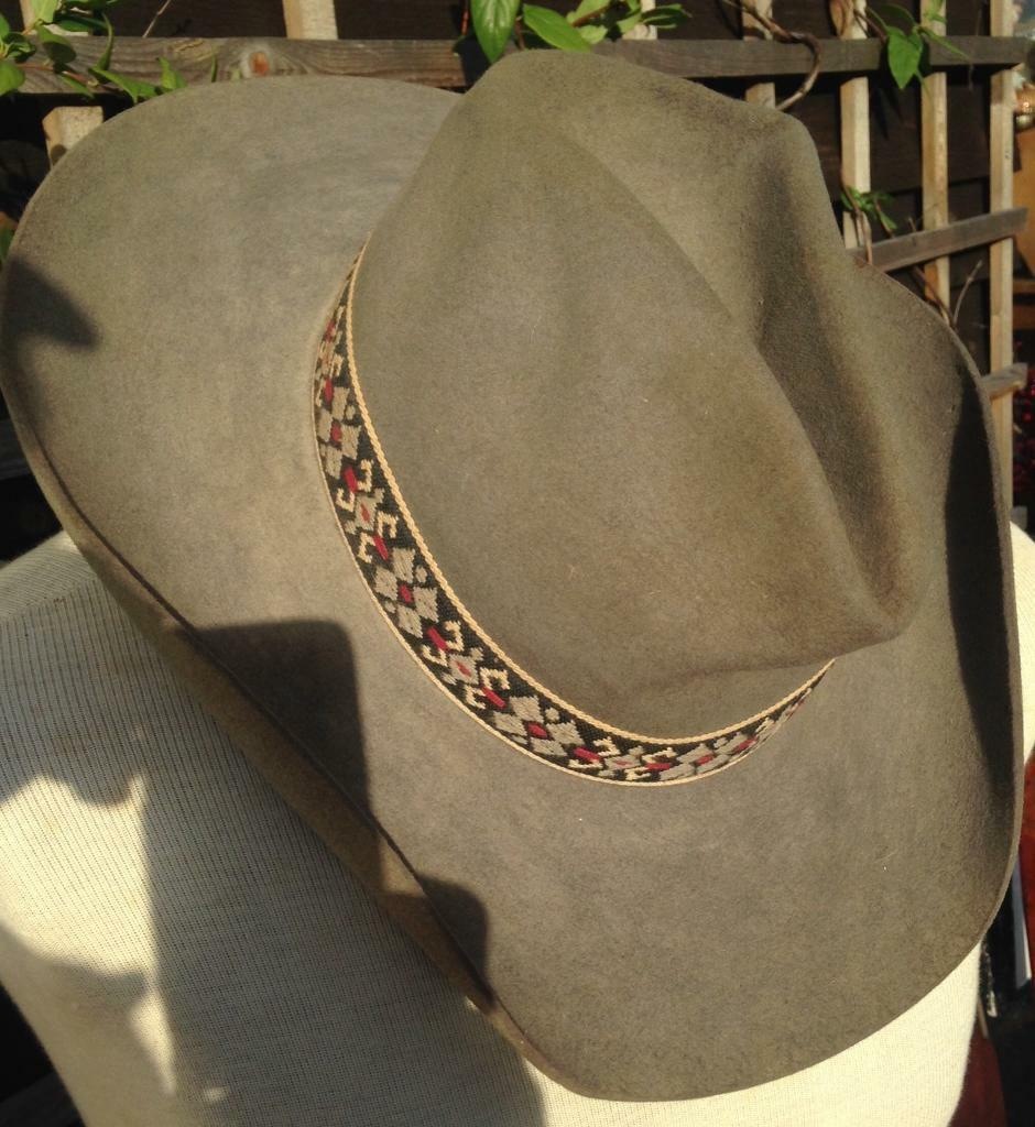 Old Stetson cowboy hat