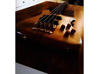 RARE!1991 Warwick Streamer Stage 1 bass. Hand made in West Germany(fender spector shadowsky lakland)