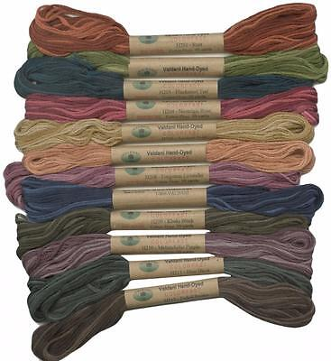 12 Valdani 6 Strand Floss Embroidery Thread Heirloom 10 Yd Skeins