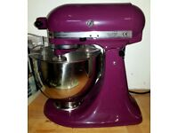 BRAND NEW PURPLE KITCHENAID Mixer.