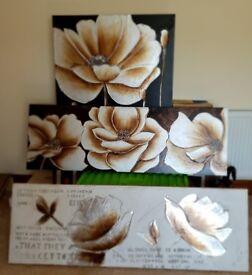 3 canvas wall art