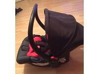 Phil and teds alpha car seat, NEED GONE ASAP! Hardly been used so will take £50 Ono