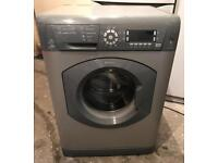 8kg Hotpoint WMD960 Super Silent Fully Working Washing Machine with 4 Month Warranty