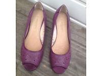 Emilio Lucax Women's Purple Shoes Size 4/37
