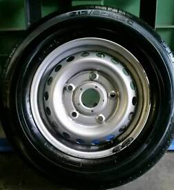 Ford Transit (2012 - 2016) 'Custom' Steel Wheel With Tyre