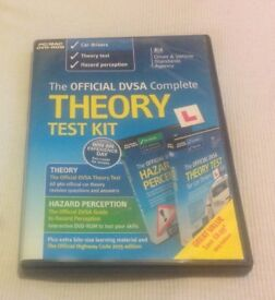 The OFFICIAL DVSA Complete THEORY TEST KIT (INCLUDES THEORY, HAZARD PERCEPTION AND THE HIGHWAY CODE)