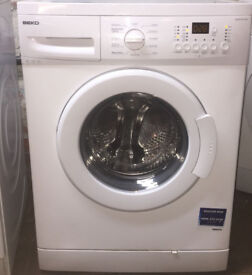 Beko WASH814DW 8kg 1400Spin White LCD A+ Rated Washing Machine 1 YEAR GUARANTEE FREE FITTING