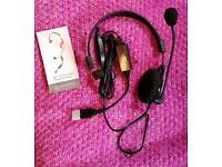 New Unused Headset: Andrea NC-181VM (rrp £50)