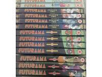 Futurama dvds series 1-4