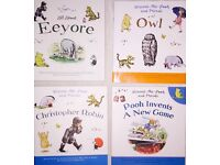 Winnie-the-Pooh and Friends Collection 4 Book Bundle Set Owl Christopher Robin