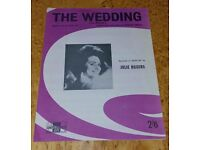 Vintage Sheet Music; The Wedding; Silver Wings in the Moonlight & Quicksilver