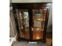 Display /China Cabinet with Light