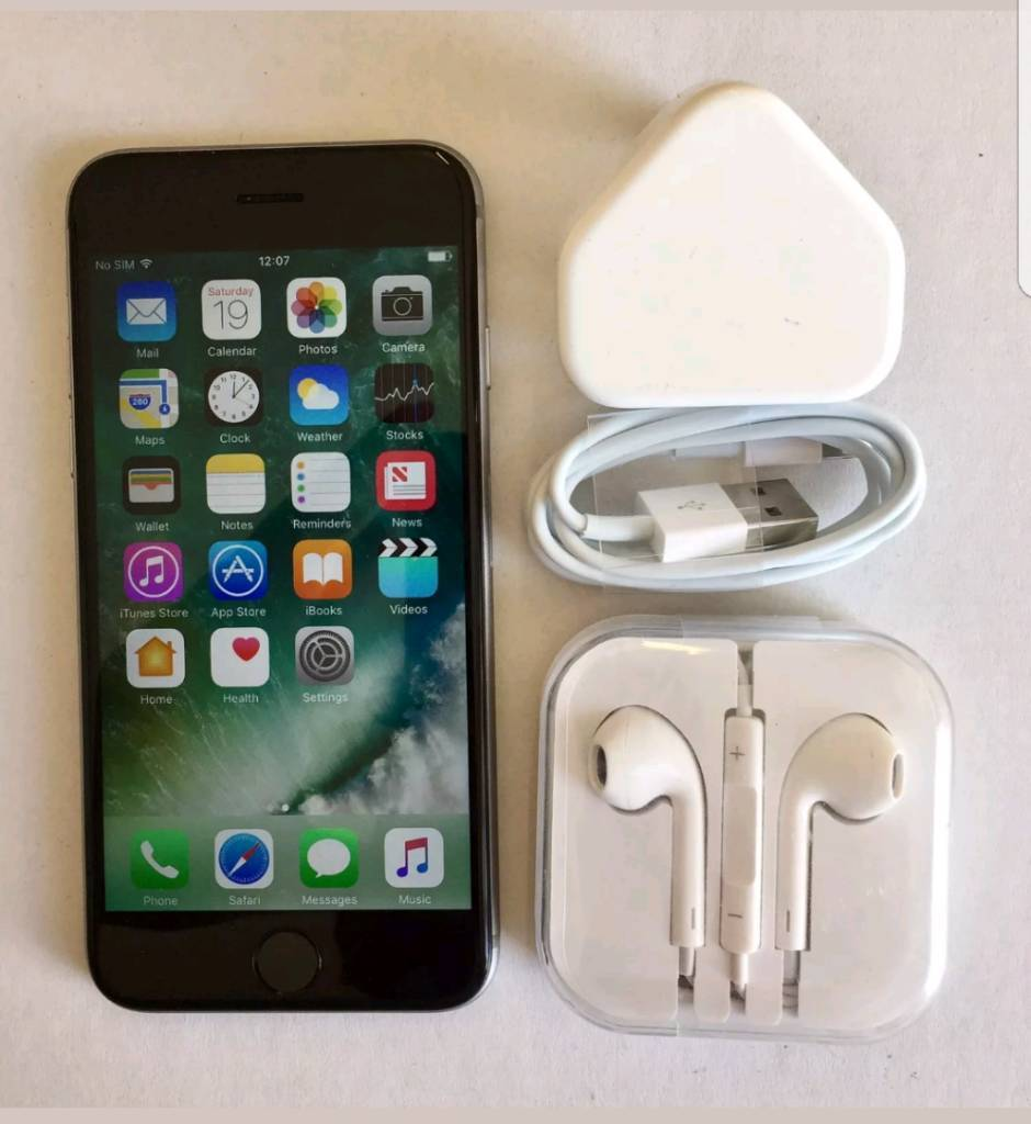 Iphone 6s space grey 32gb on Voda and lebara