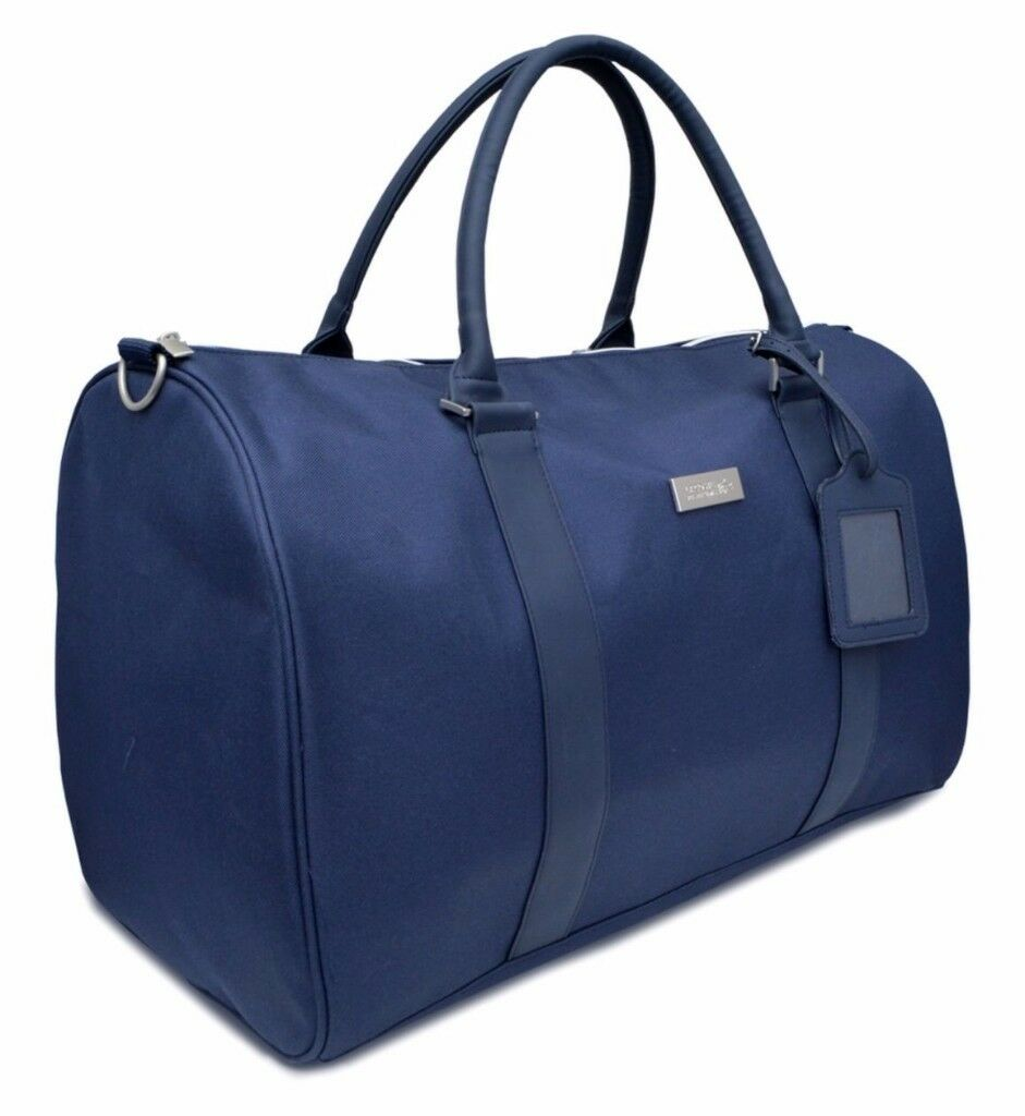 34c84c95be2 NEW Lacoste Navy Blue Weekend / Travel / Gym / Holdall / Duffle Bag ...