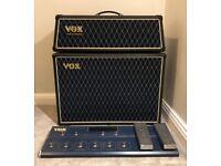 Vox Valvetronix Guitar Amplifier: AD60VTH Head, AD212 Speaker Cab & VC212 Foot Controller Combo