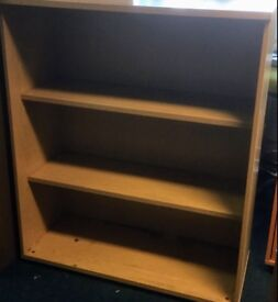 SOLD. Bookshelves Bookcase Storage Unit Commercial Quality Heavy Item 120cm x 100cm x 43cm