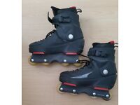 Aggressive Inline Skates size 40 (UK6/7). Very good condition.