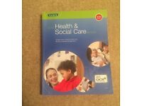 GCSE Health and Social Care for OCR ISBN 9781850084242