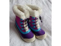 Brand New Girls Winter / Snow Boots / Waterproof Walking Boot - Size 12