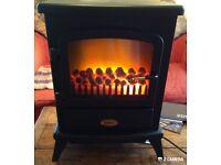 Warwick woodburner electric heater
