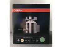 Outdoor Light with Motion Sensor (Osram Endura Style Cylinder Wall LED Luminaire)