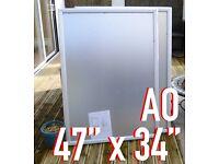 "✅ 2X A0 OUTDOOR POSTER SNAP FRAMES (47"" x 34"")"