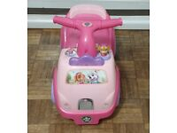 SIT AND RIDE - PAW PATROL - LIGHTS AND SOUNDS - EXCELLENT CONDITION - £8