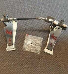 Pédale double Axis X Double Bass Drum Pedal usagée-used