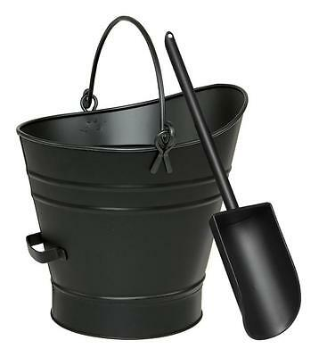 Achla Minuteman Coal Hod Pellet Bucket with Scoop C-65MC