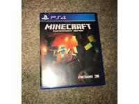 Minecraft Playstation 4 edition for sale
