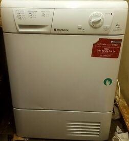 Hotpoint Aquarius 8kg condenser dryer