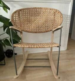 IKEA Rattan rocking chair