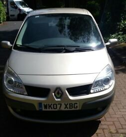 Renault Scenic 1.6 VVT Dynamique 5dr, FULL SERVICE HISTORY, LOW MILEAGE