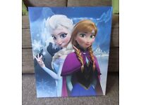 Frozen 40cm x 50cm Canvas Wall Picture Bedroom