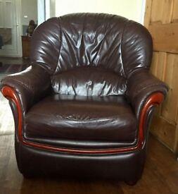 Leather 3-piece sale for sale