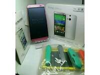 HTC M8 32GB * LIMITED EDITION PINK * DUAL REAR CAMERA * UNLOCKED * NEW BOXED