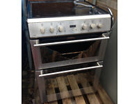 cooker with induction top electric oven