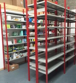 Shelving - Industrial Strength - Excellent Condition