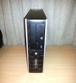 HP Compaq 6200 Pro SFF Desktop PC - Core i5-2400 3.10GHz 4GB 320GB Win 7 Computer