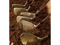 Set of Nike irons