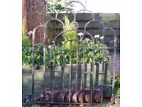 ANTIQUE WROUGHT IRON GATE