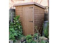 Pent Roof Timber garden shed