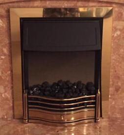 Electric coal effect fire