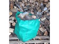 Hardwood LOGS - locally sourced, hand split and dried naturally ready to burn