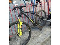 Voodoo Bizango mountain bike 18""
